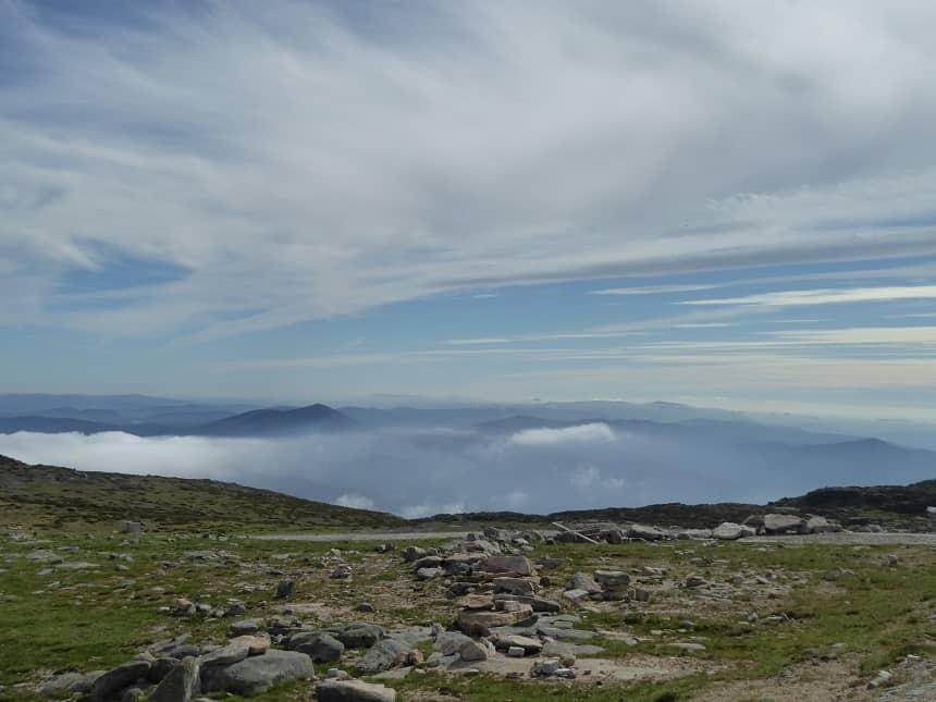 Immense vergezichten vanaf het hoogste punt van Portugals vasteland