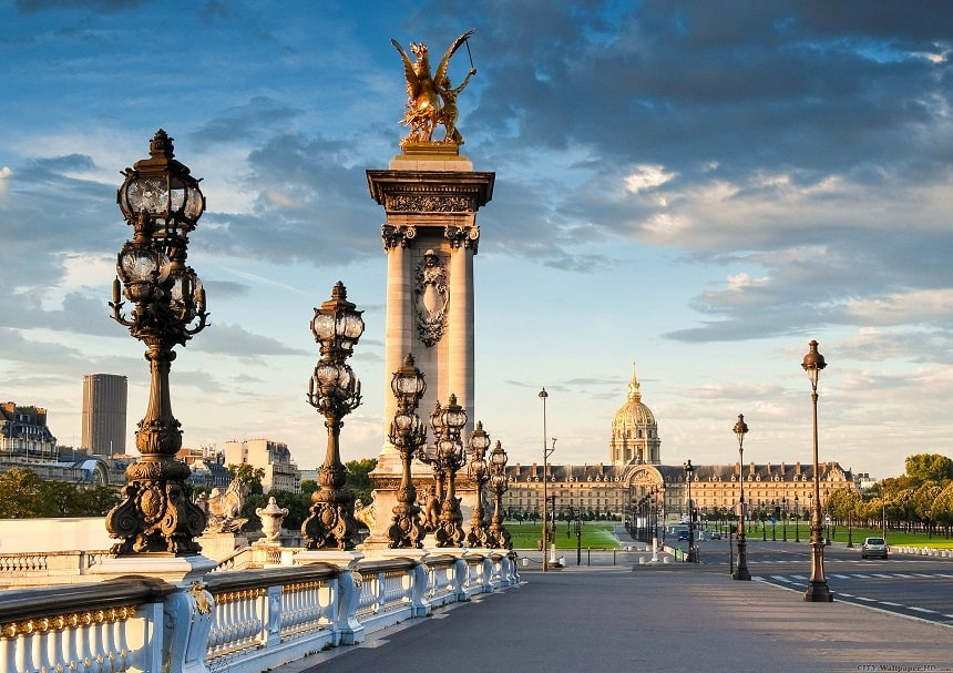 Bestemming Parijs