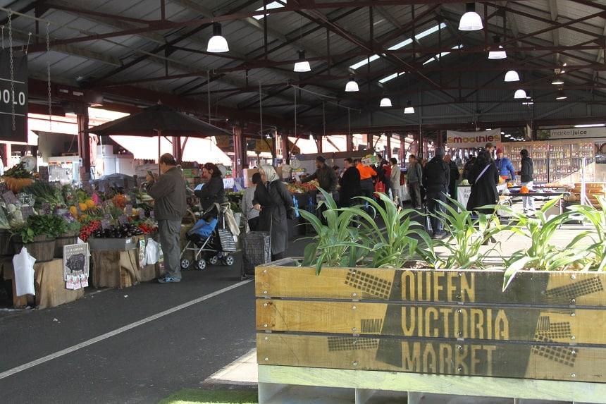 De Queen Victoria Markt