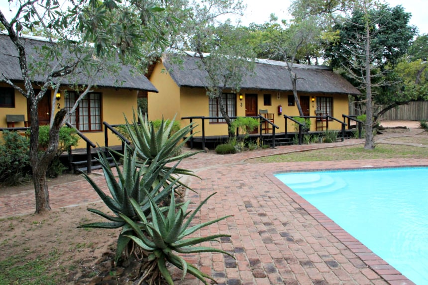 Thornhill safari lodge in Guernsey Private Game Reserve, Zuid-Afrika