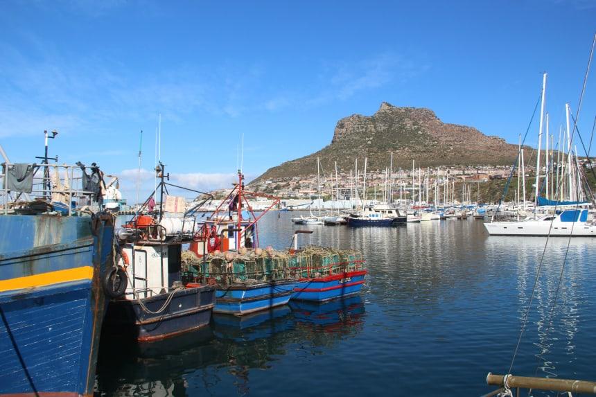 De haven van Houtbaai