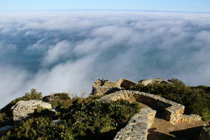 Cape Point in Zuid-Afrika