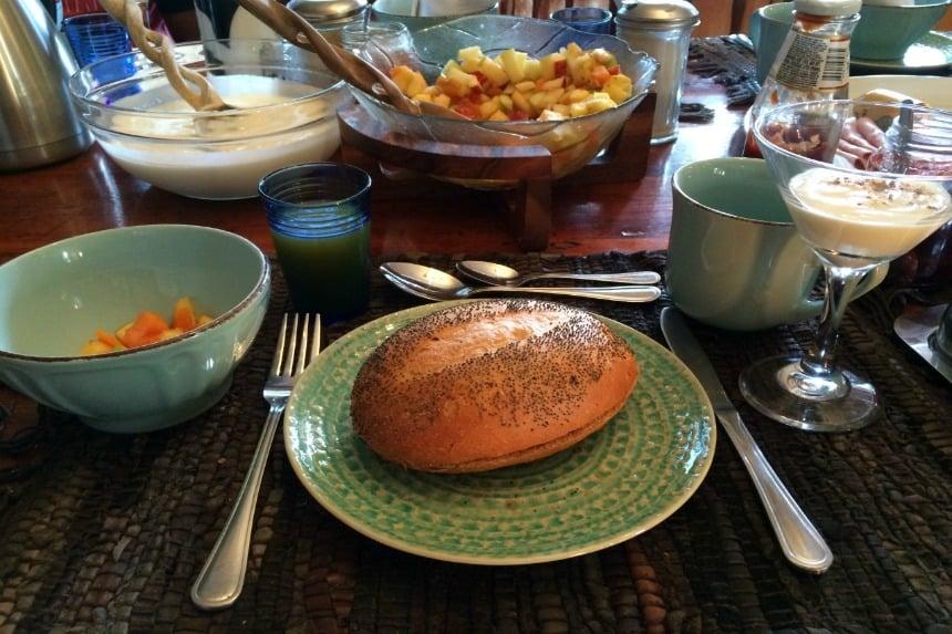 Lekker ontbijtje in Kaapstad