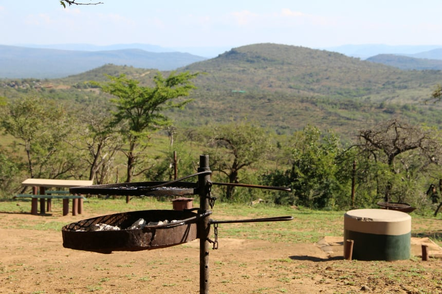Voeg als je de kans krijgt zeker een bushbraai aan je safari toe