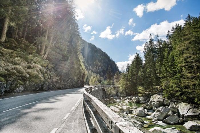 De fraaie routes van de Grand Tour of Switzerland zijn een belangrijk deel van de beleving.