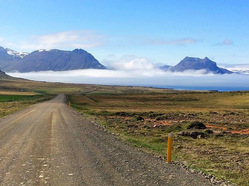 weg naar Djúpavík