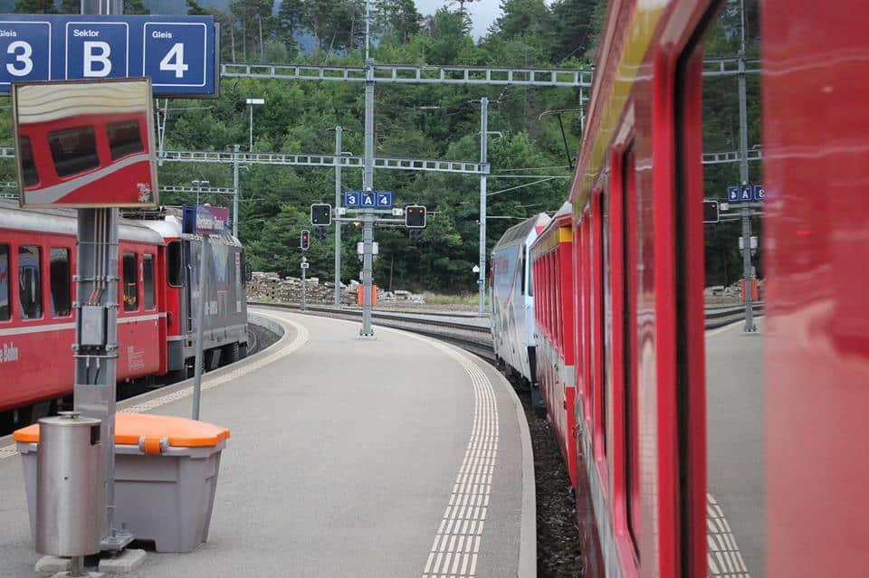 Op naar de volgende bestemming: St Moritz!
