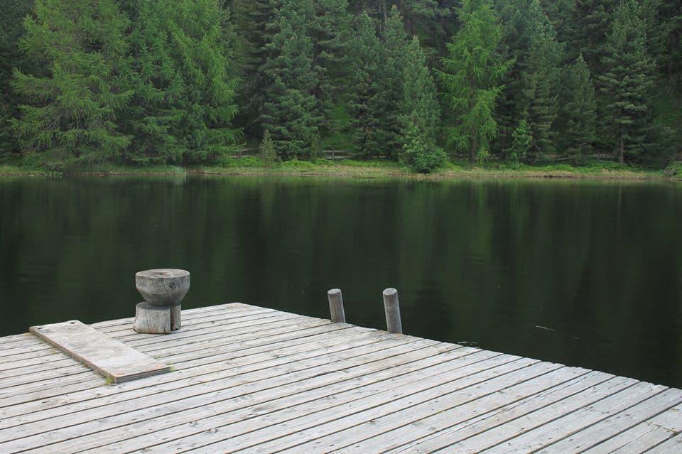 Steiger bij Lake Marsch