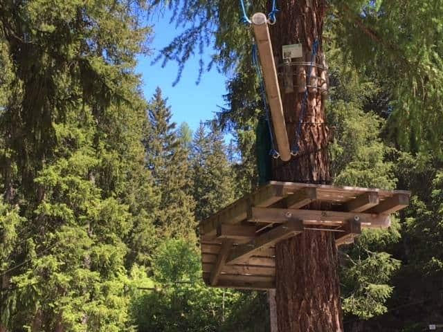 Adventurepark Faerich. Probeer hier te ziplinen, bmx of eet een lekkere lunch bij Chalet Velo