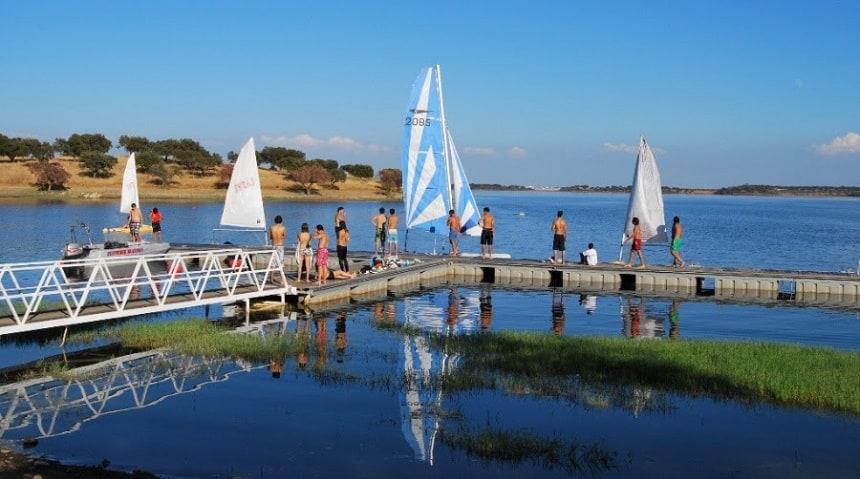 de lagune van Alqueva