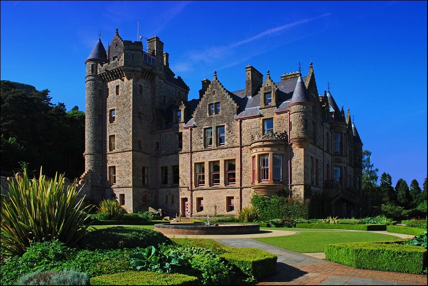 Belfast Castle in Noord-Ierland