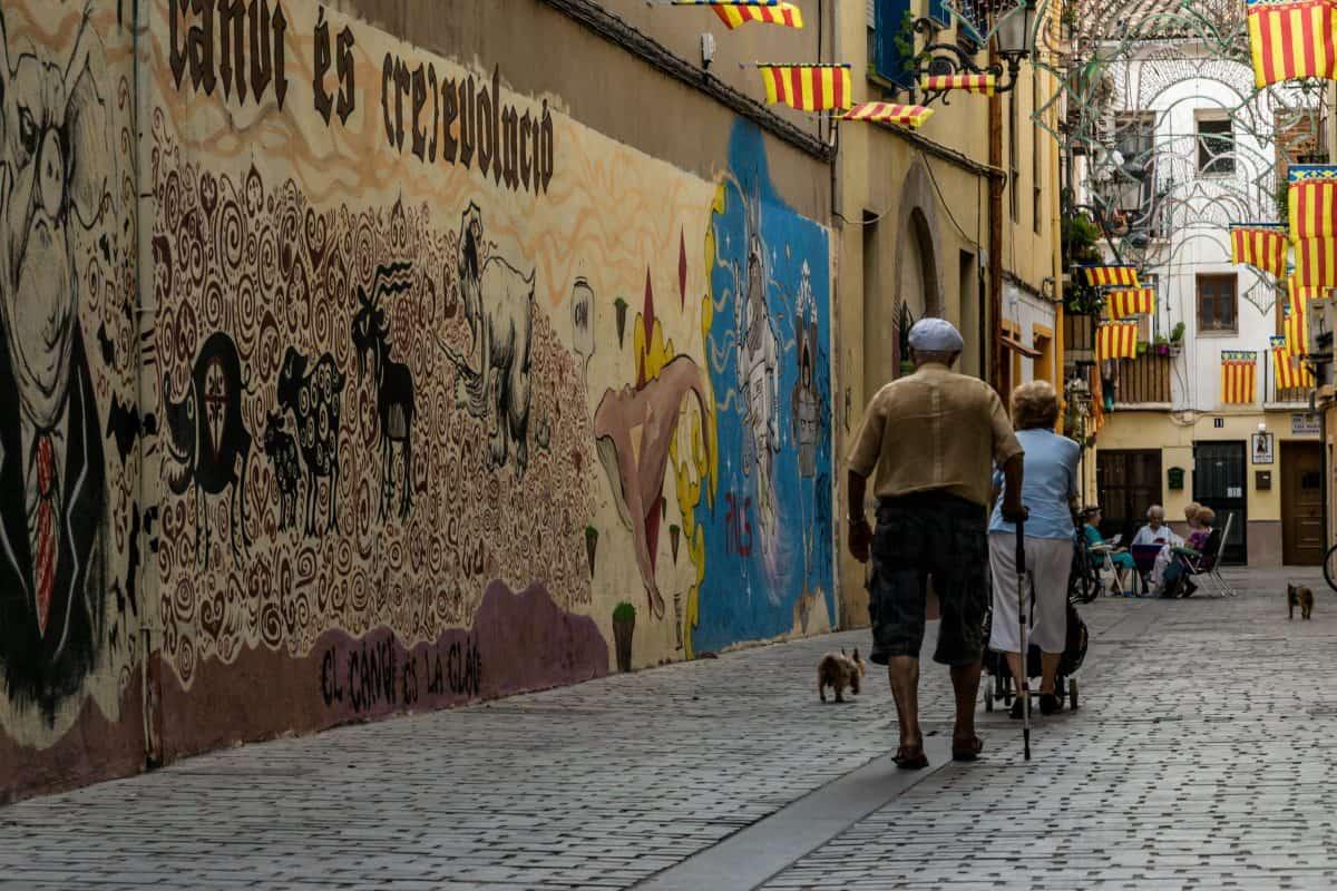 Puur Valencia; oud en jong