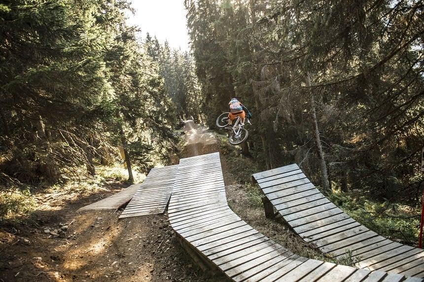 Mountainbiken in Zwitserland