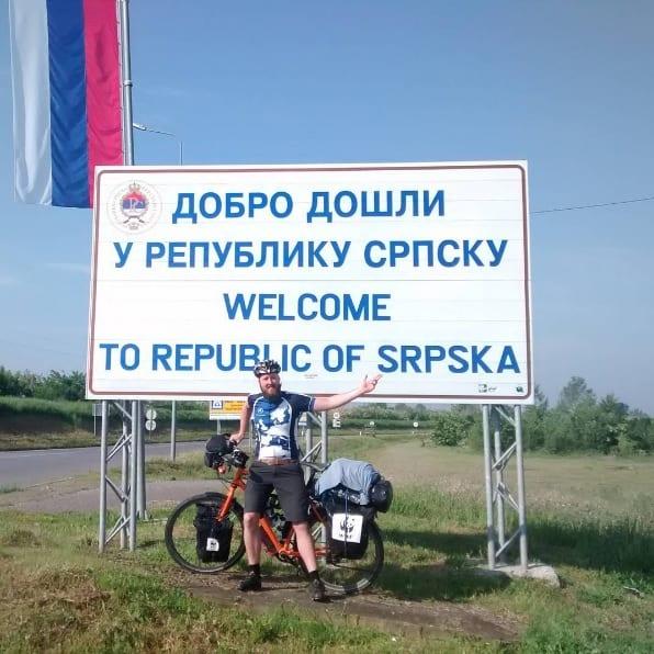 Fietsen naar Bosnie