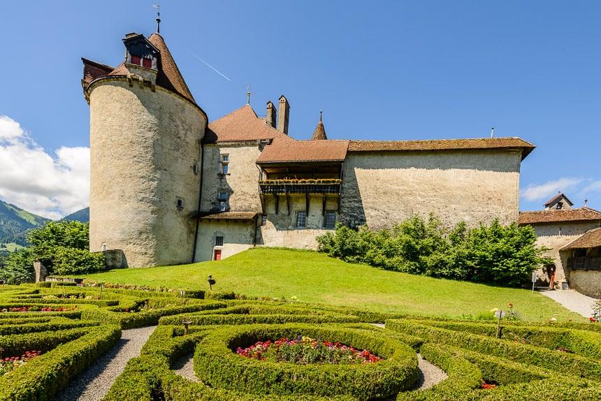 Gruyeres-het Chateau