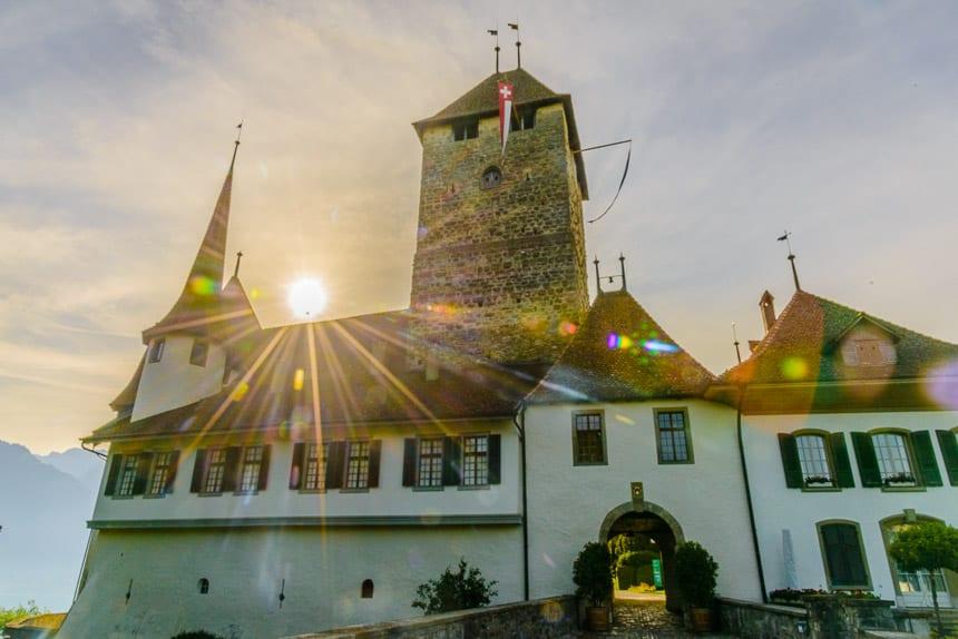 Het kasteel van Spiez