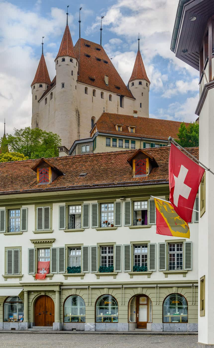 Het kasteel van Thun