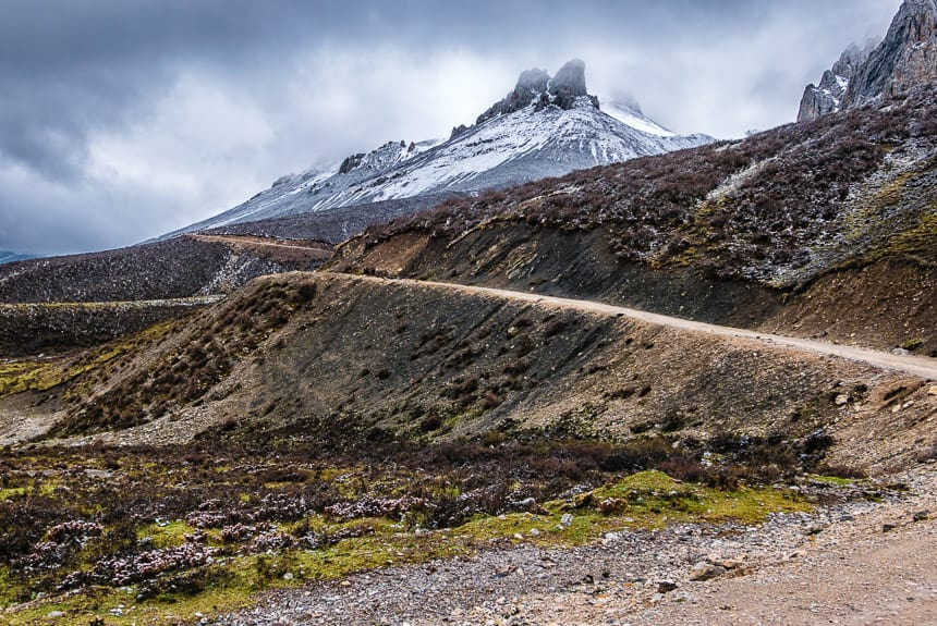 Nangchen. De weg naar Modrong