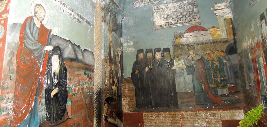 Het St. Barnabas klooster is nu een iconen-museum.