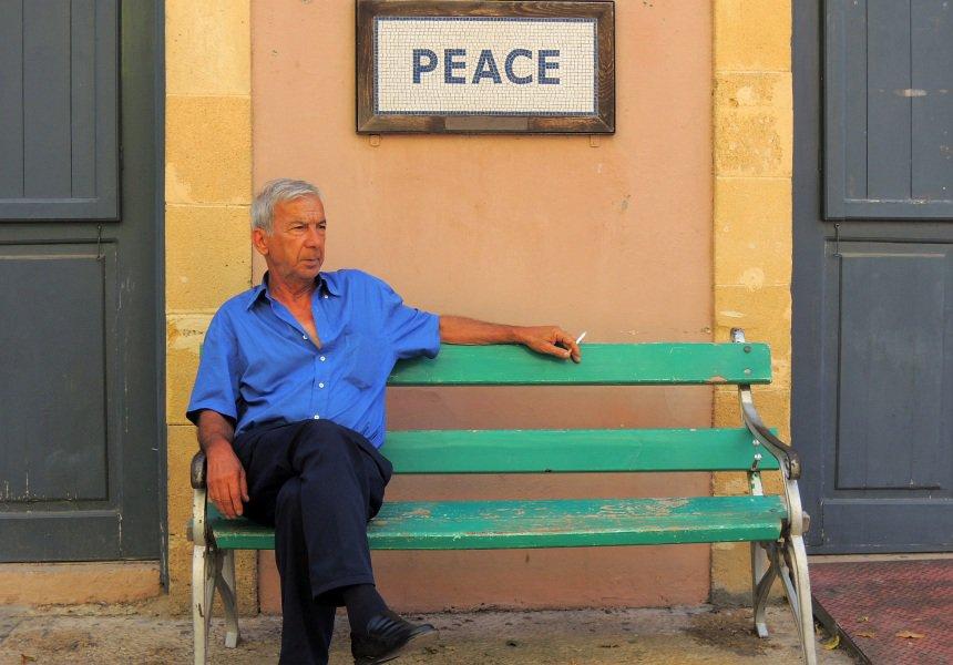 Van de inwoners van Cyprus hoeft die verdeeldheid niet zo...