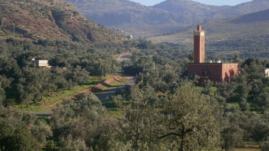 Elk dorpje heeft zijn moskee.