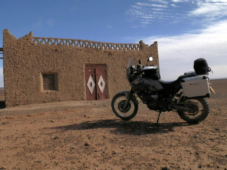 All road trip door Marokko