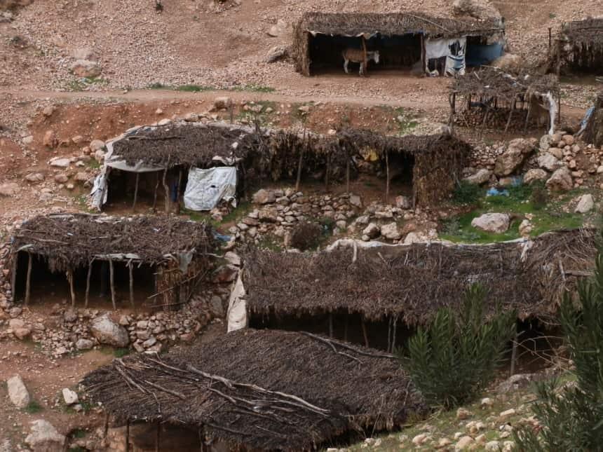 Huisjes langs de bronnen
