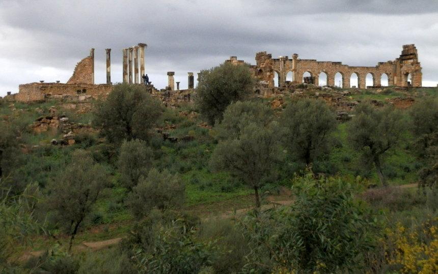 Romeinse opgravingen bij Volubilis