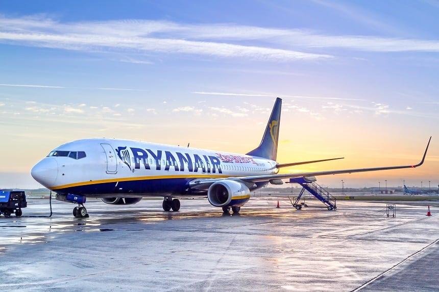 met Ryanair naar Portugal