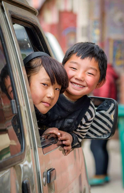 Tibetaanse kinderen in Qapugtang – Zado