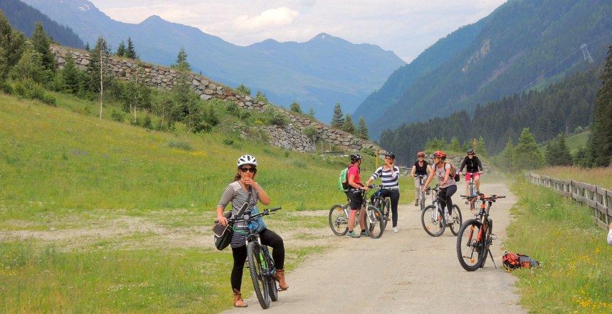 Het Paznauntal is voor sportievelingen. Ook in de zomer.