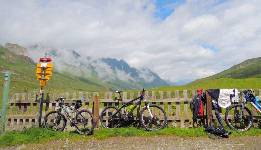 Hiken en biken op eenzame hoogte. De bergen rond Ischgl zijn mooi in de zomer.