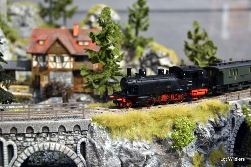 Modeltrein Traumwerk Museum