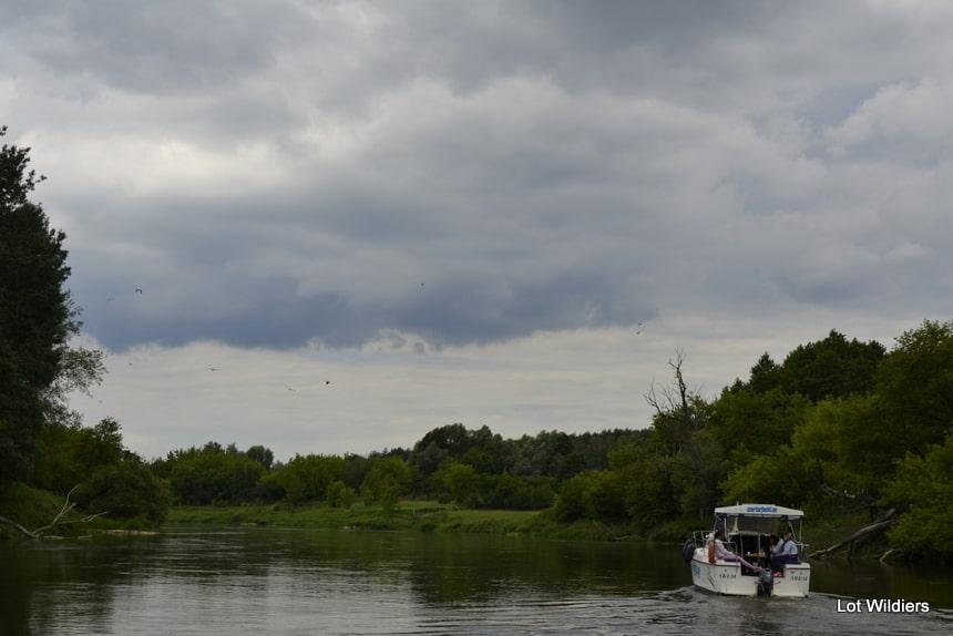 Het weer in Wielkopolska is doorgaans goed, al had ik wat pech. Maar dat vind ik niet erg, met zo'n wolkenpracht!