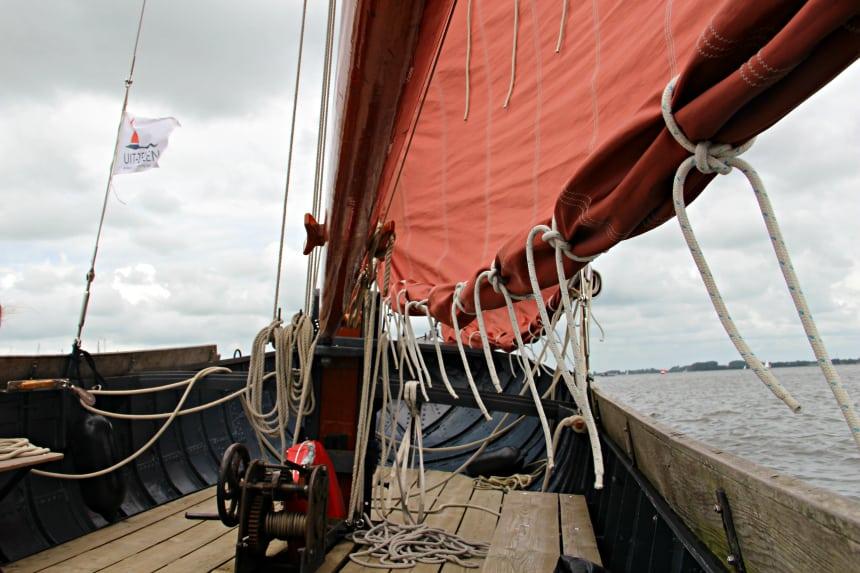 Weekendje weg in Friesland: Zeilen op het Sneekermeer