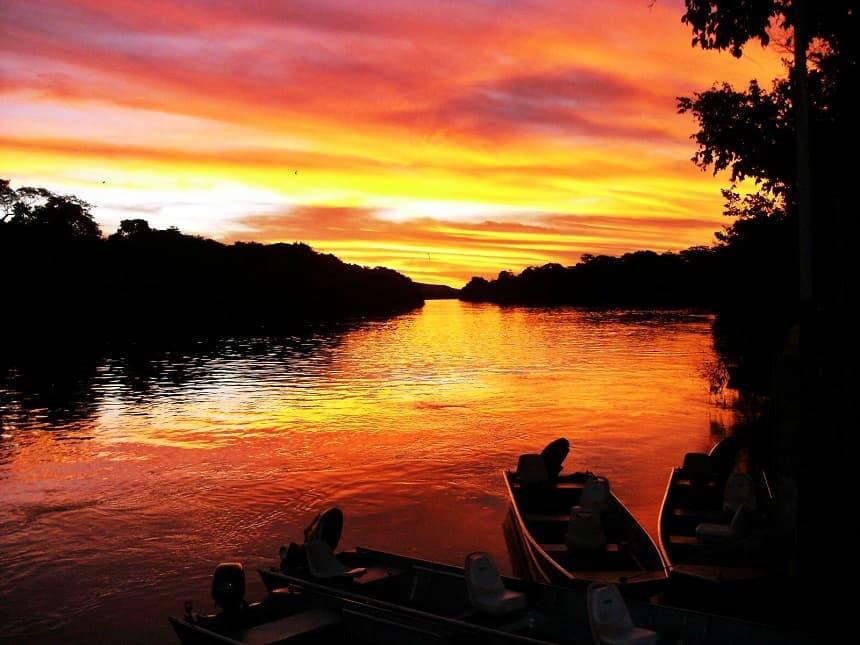 Guaporé rivier
