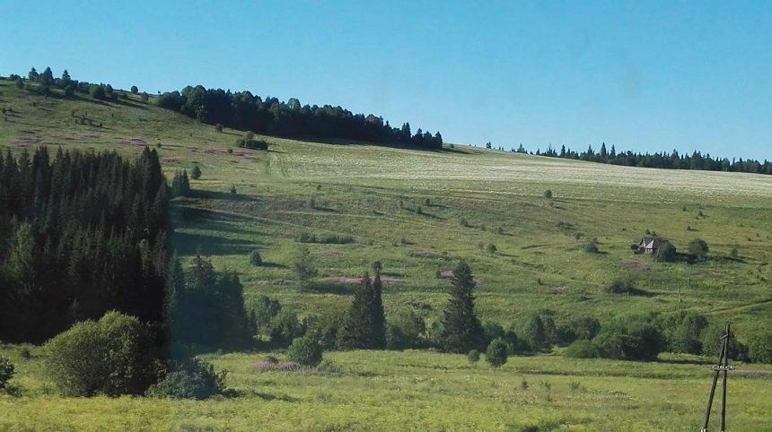 Siberische landschappen