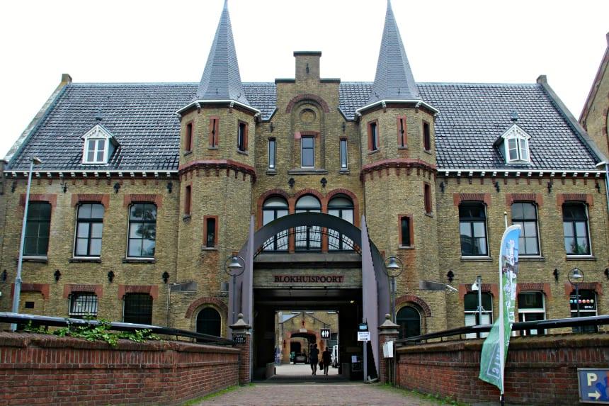 Urban exploring in Leeuwarden: de Blokhuispoort is een voormalige gevangenis