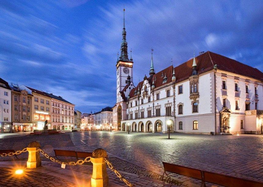 Olomouc in Tsjechie