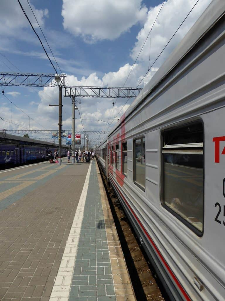 Treinstation Moskou
