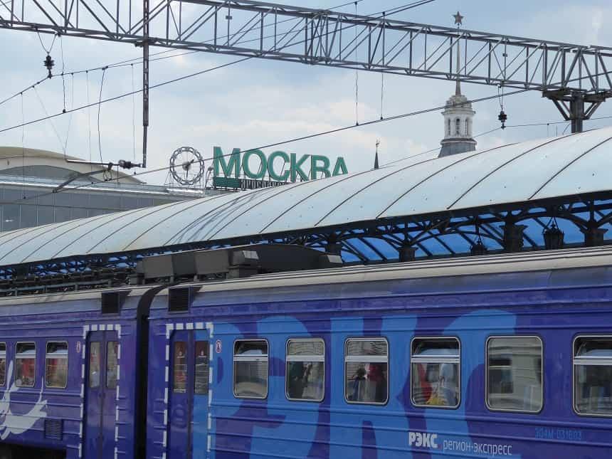 Start (of eindpunt) van deze reis is het immer mooie Moskou
