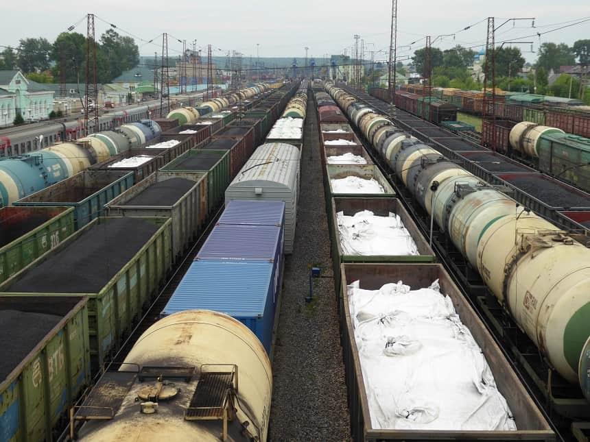 Desolate treinlandschappen