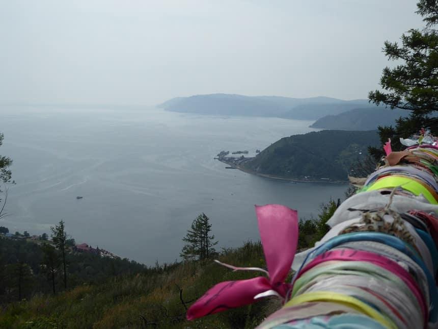 Het Baikalmeer is indrukwekkend groot