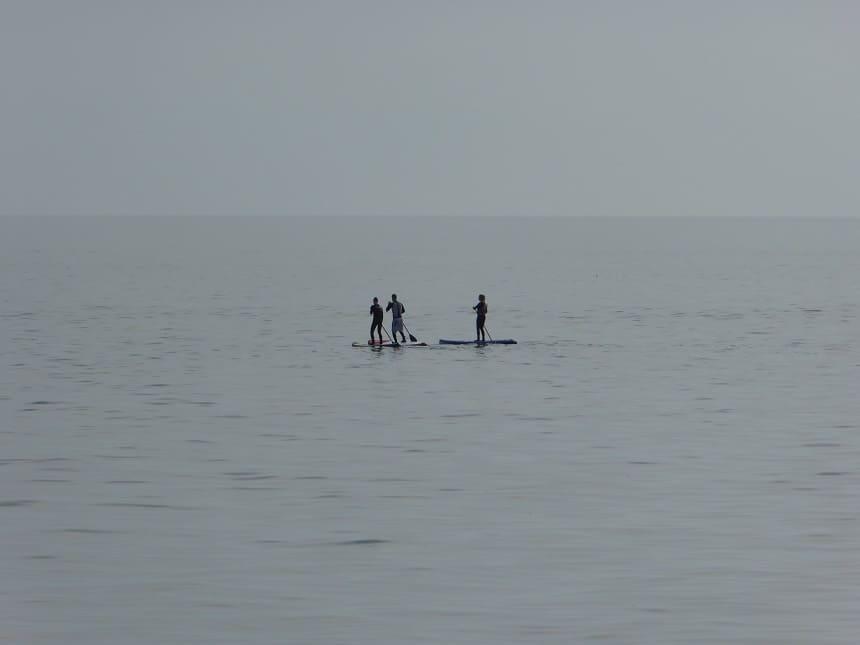 SUPpen op het Baikalmeer