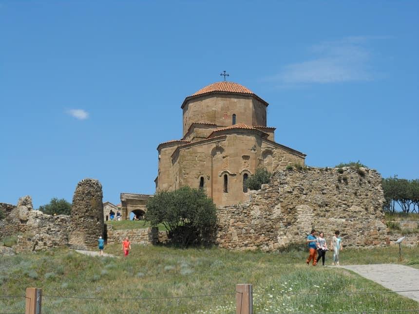 Jvari klooster, in de buurt van Tbilisi