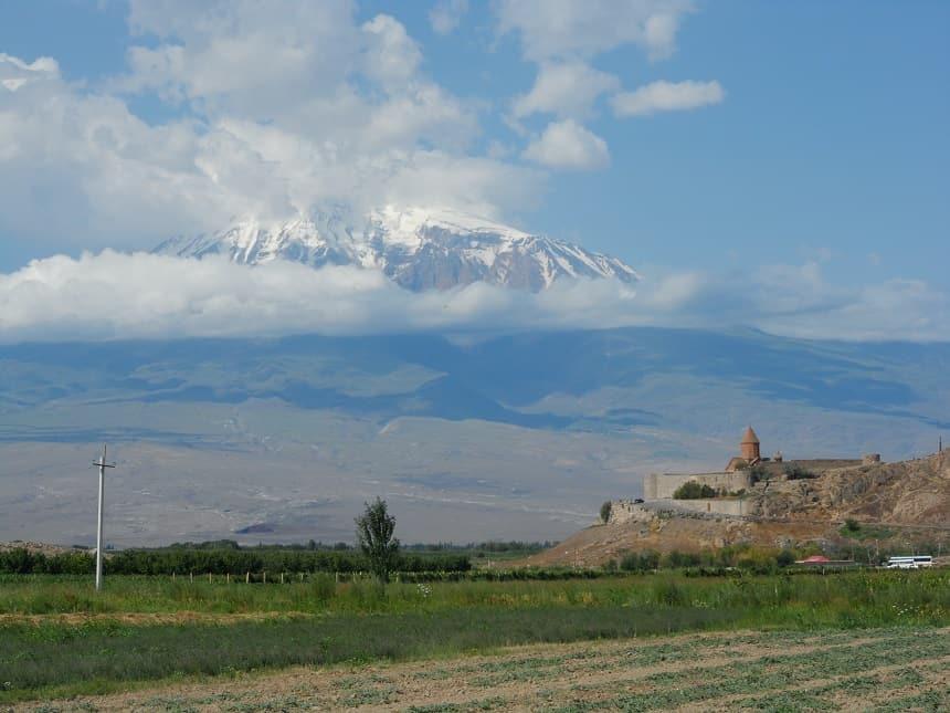 Khor Virap klooster in Armenië