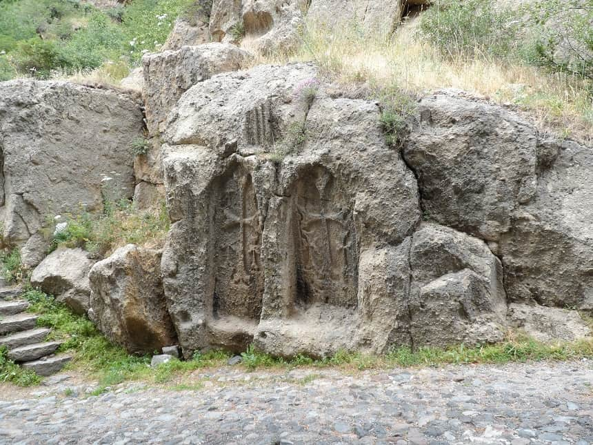 Geghard klooster in Armenië