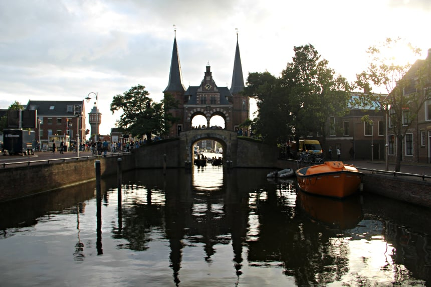 De Waterpoort in Sneek