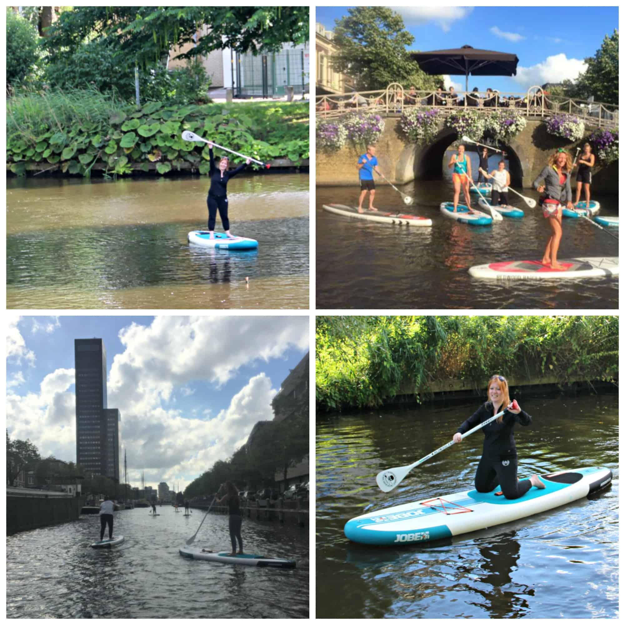 Stand Up Paddling in Leeuwarden, de cultuurhoofdstad van Friesland