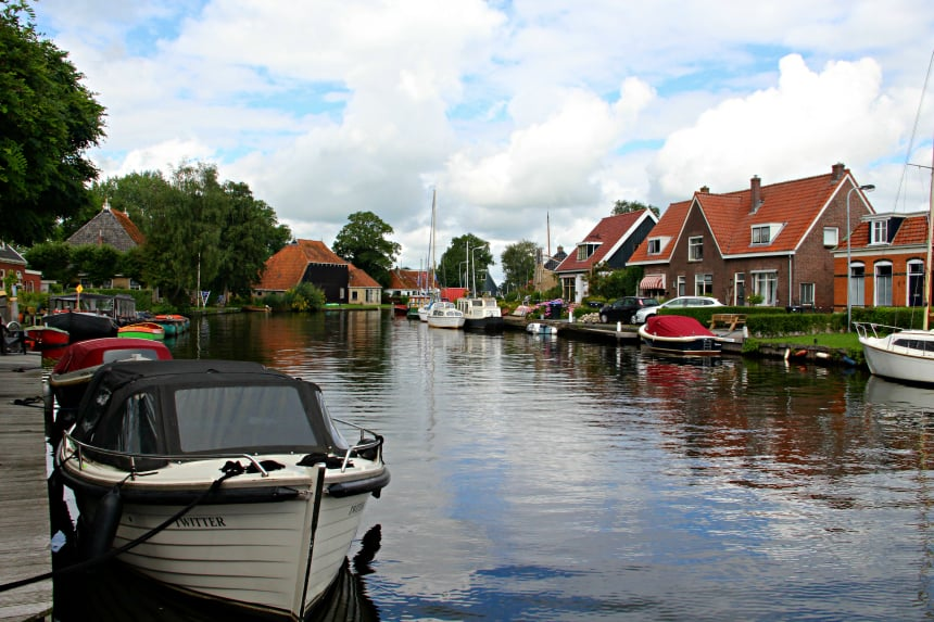 Weekendje weg in Friesland: de grachten van Terherne